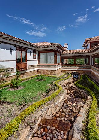 arquitectura en villa de leyva